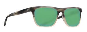 COSTA DEL MAR APALACH POLARIZED APA238 OGMGLP SUNGLASSES SAND//GREEN 580G GLASS