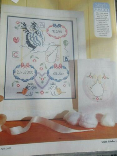/'A Home Delivery!/' Birth Sampler Cross Stitch Chart only