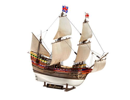 Mayflower 400th Anniversary Gift Set 1:83 Plastic Model Kit REVELL