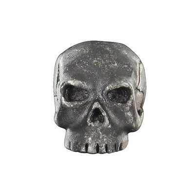 Schmuckatelli Fang Skull Pewter Bead Tactical Paracord Pull NEW