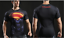 Mens-Marvel-Compression-Armour-Base-Layer-Gym-Top-Superhero-Cycling-T-shirt-fit thumbnail 38