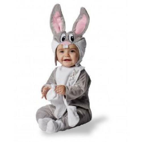 Official Deluxe Looney Tunes Bugs Bunny Rabbit Fancy Dress 18/36 Month