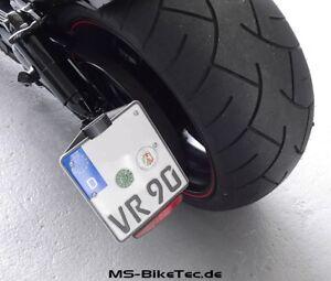 Rueckstrahler-Reflektor-mit-Halter-fuer-Harley-Davidson-Muscle
