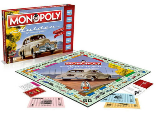 Monopoly Holden 70th Anniversary Collector's Edition Family Board Game New