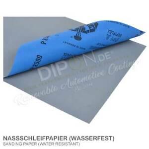 Schleifpapier Wasserfest Nass Papier 230mmx280mm Lack Sand Schleifscheiben Wahl