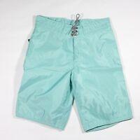 Birdwell Beach Britches 30 Waist Aqua Brand Surf Trunks Shorts Boardshorts