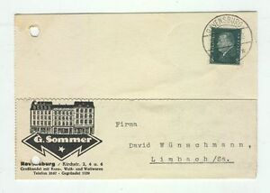 Cover C35 Germany 1931 Reich Ravensburg