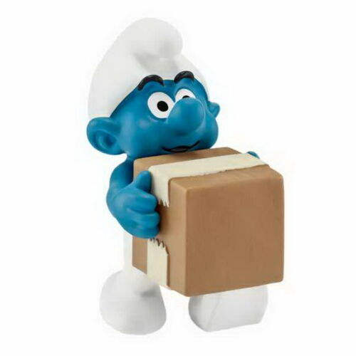 Smurf Smurf all Professions 2015 Schleich 20771 Smurf Logistic New