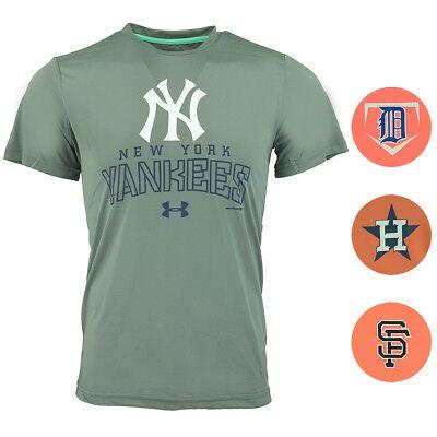 6c5ee65dcc364 Under Armour Men's Houston Astros T-shirt Orange S for sale online ...