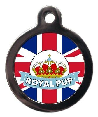 Matrimonio Reale Tag Id Pet-blu Royal Cucciolo Cane Nome Id Tag-personalizzato Gratis-ed Free It-it Mostra Il Titolo Originale Carattere Aromatico E Gusto Gradevole