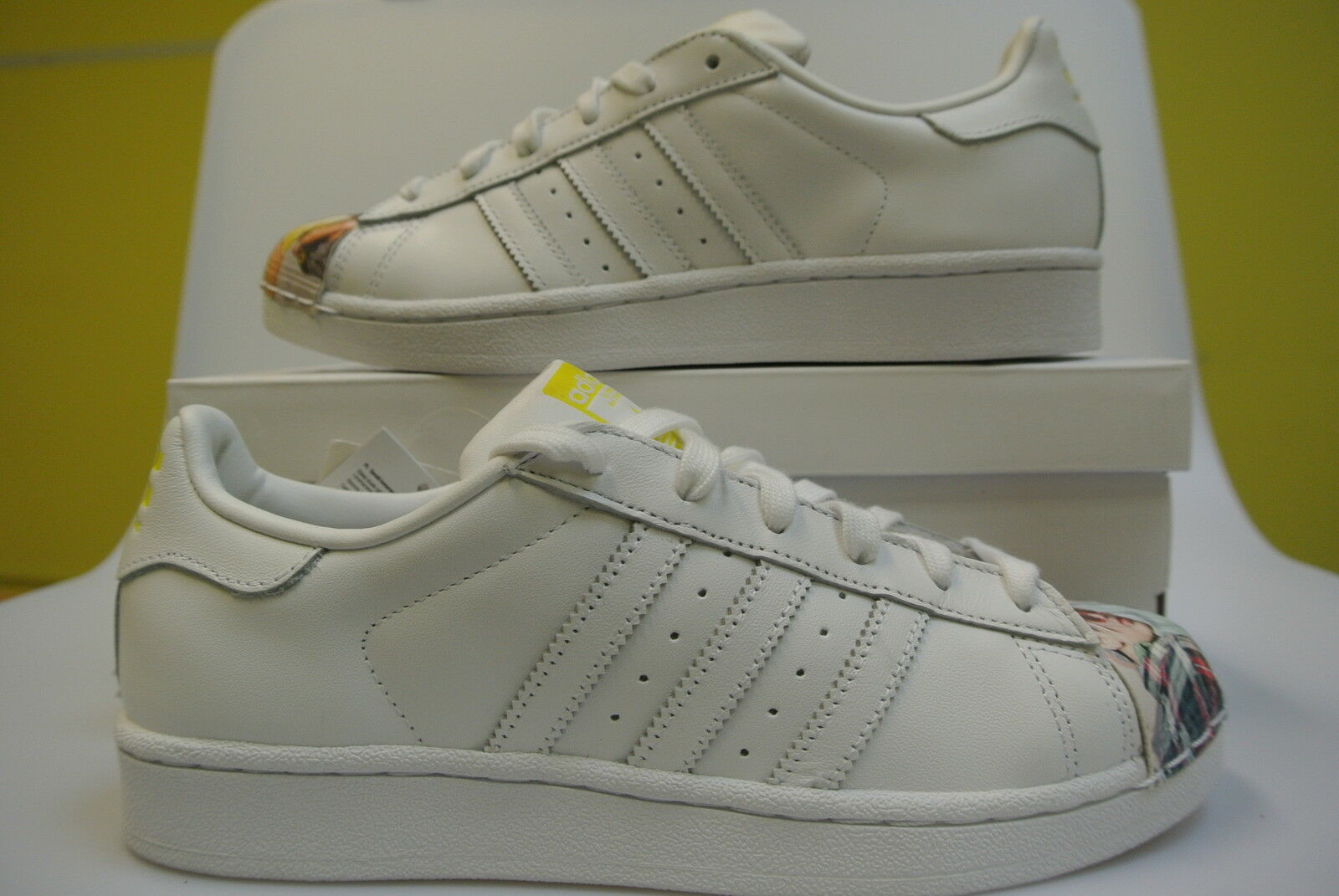 Adidas Superstar W Pharrell elegibles Williams supersh talla elegibles Pharrell nuevo con embalaje original s83363 4e8a86