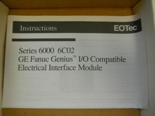 EOTec 6C02 ELECTRICAL INTERFACE ZEOT6C02EI *NIB*