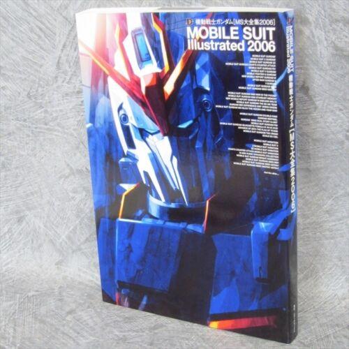 GUNDAM Mobile Suit Illustrated 2006 MS DAIZENSHU Art Book MW16*