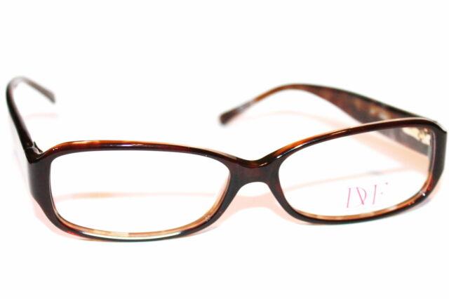Diane Von Furstenberg DVF 5000 Eyewear Eyeglass Frames Womens Brown ...
