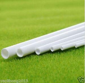 5-10-pcs-ABS-Styrene-Plastic-Round-Tube-Pipe-Diameter-2mmX250mm-White