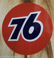 "Oldschool Sticker "" Union 76  ""  Aufkleber / Hot Rod US Car - V8 - Chevrolet"