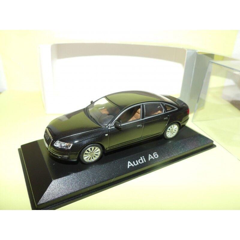 AUDI A6 C6 3.2 Quattro black MINICHAMPS 1 43