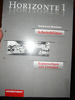 Horizonte 1 Geschichte Gymnasium Arbeitsblätter Kopiervorlagen mit Lösungen