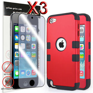 Armor-Shock-Proof-Heavy-Duty-Case-Impact-Cover-Film-For-ipod-Touch-6-5-5th-Gen