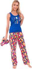 8c6c450ae8 Body Candy Womens 3-Piece Sleepwear Loungewear Pajama Set - Includes  Slippers
