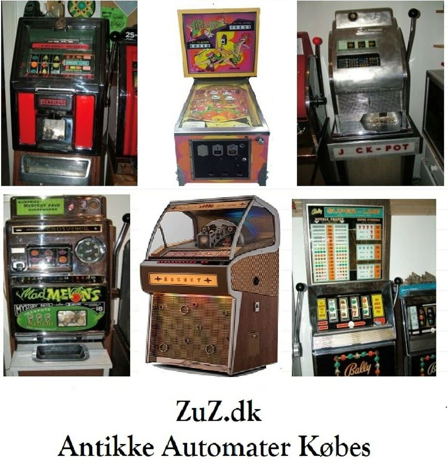25 ører - originale, spilleautomat