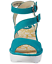 Fly-London-Yisk-Verdigris-Leather-Ankle-Strap-Wedge-Sandals-EU-36-37-39-38-40 thumbnail 2