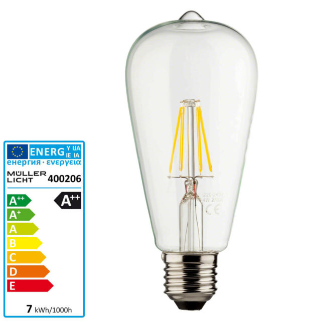 Philips LED Lampe Classic Nd 7-60w E27 CLA Ledbulb#74275400 | eBay