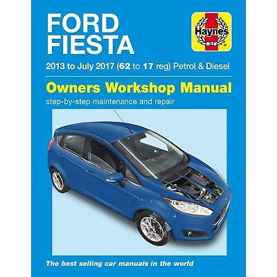 Ford Fiesta Petrol & Diesel (13 - 17) 6407 Haynes Repair Manual