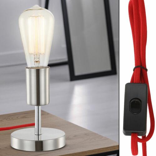 Schreib Tisch Lampe Arbeits Zimmer Beleuchtung Lese Beistell Büro Leuchte silber