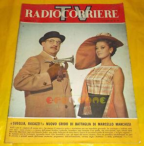 Radiocorriere Tv 1964 N 47 Marcello Marchesi Pamela Tudor Enzo