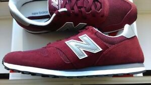 NEW Balance ML373BN Classics Borgogna Smart Casual Sport tg UK 9.5