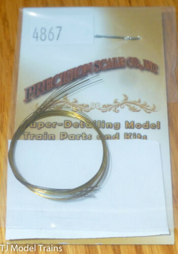 Precision Scale #4867 Wire (Brass) 12 Long, .2mm OD