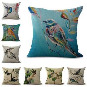 18-034-Animal-Bird-Cushion-Cover-Color-Home-Decoration-Painting-Cartoon