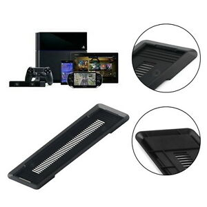New-Vertical-Stand-Holder-Base-for-Sony-PS4-PlayStation-4-in-Black-gd