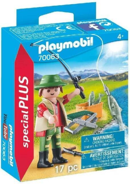 Playmobil Special Plus Fisherman 70063