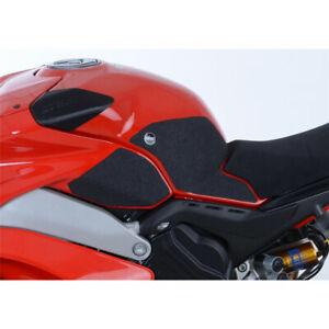 Kit Grip Tank R&G RACING 4 Parts Black Ducati Panigale V4