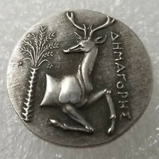 Rare Silver Plated Greek Ancient Animal Coin The Great Greek Coin NO.450