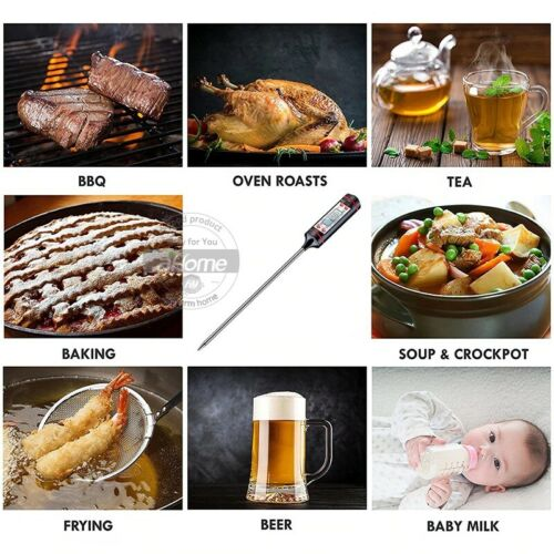 Kitchen Cooking Digital Thermometer Tool Food Probe BBQ Meat Temperature