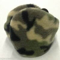 Behind The Head Army Green Camouflage Youth Winter Fleece Ear Muff / Warmers