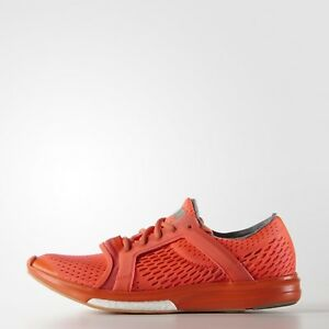 new styles e75a6 f2cad Details about Adidas Stella McCartney Climacool Sonic Sz:8.5 Running B25115  Solar Red Coral