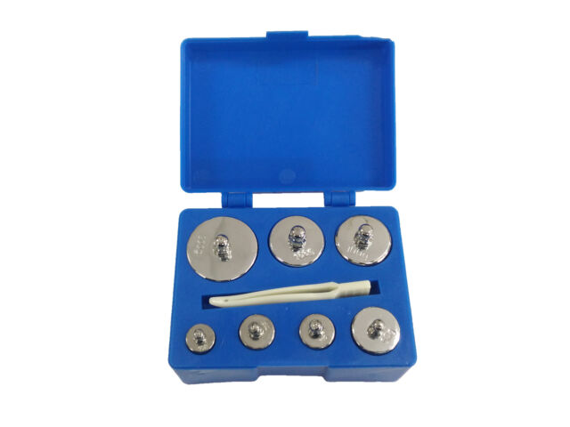 500 Gram Calibration Weight for Digital Jewellery Scale 200g 100g 50g 10g 5g SET