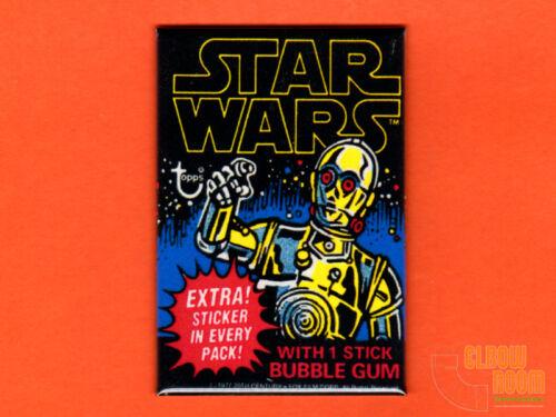 """Star Wars Topps gum card wrapper art 2x3/"""" fridge//locker magnet series 1"""