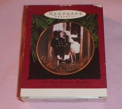 HALLMARK KEEPSAKE ORNAMENT ~ OUR FIRST CHRISTMAS TOGETHER ~ HEART ~ 1997 *NRFB