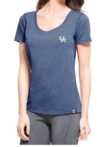 NEW-NCAA-UK-Kentucky-Wildcats-Women-039-s-Short-Sleeve-Blue-T-shirt-Size-Small