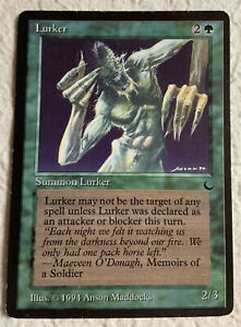 Lurker PLD The Dark 1994 Reserved List Mtg Magic the Gathering