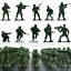 50-pcs-Military-Plastic-Toy-Soldiers-Army-Men-Green-1-36-Figures-10-Poses thumbnail 1