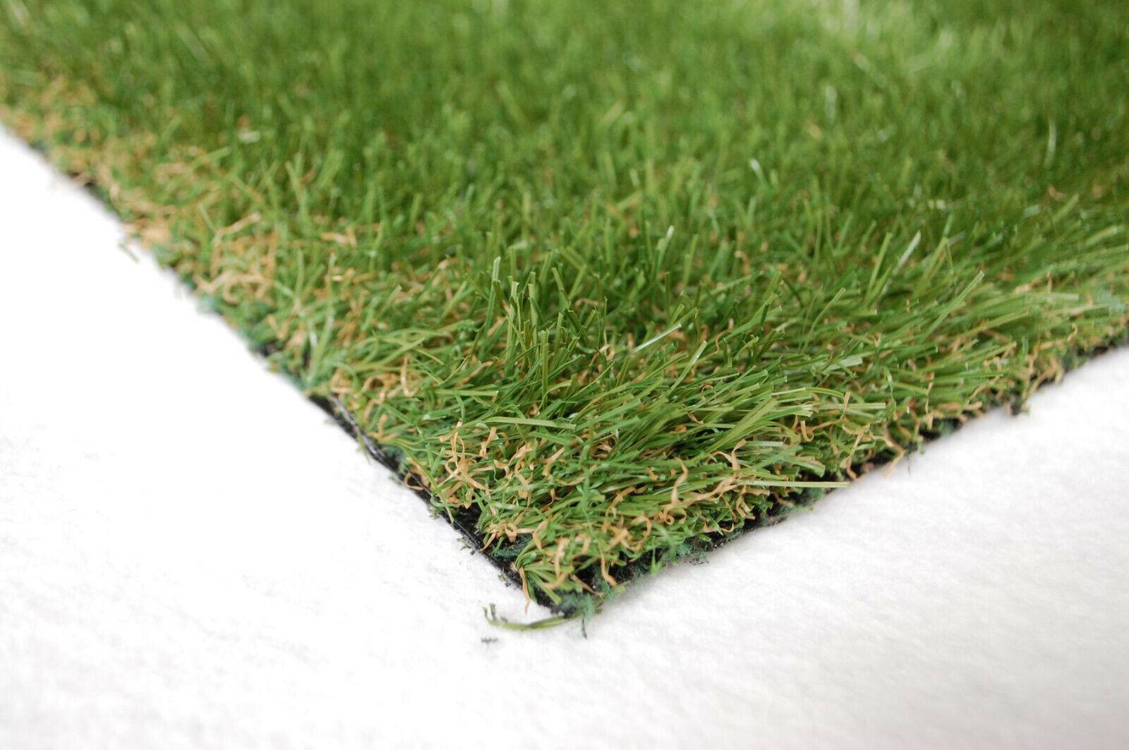 Stadion Rasen Teppich Kunstrasen 34 mm 200x380 cm grün