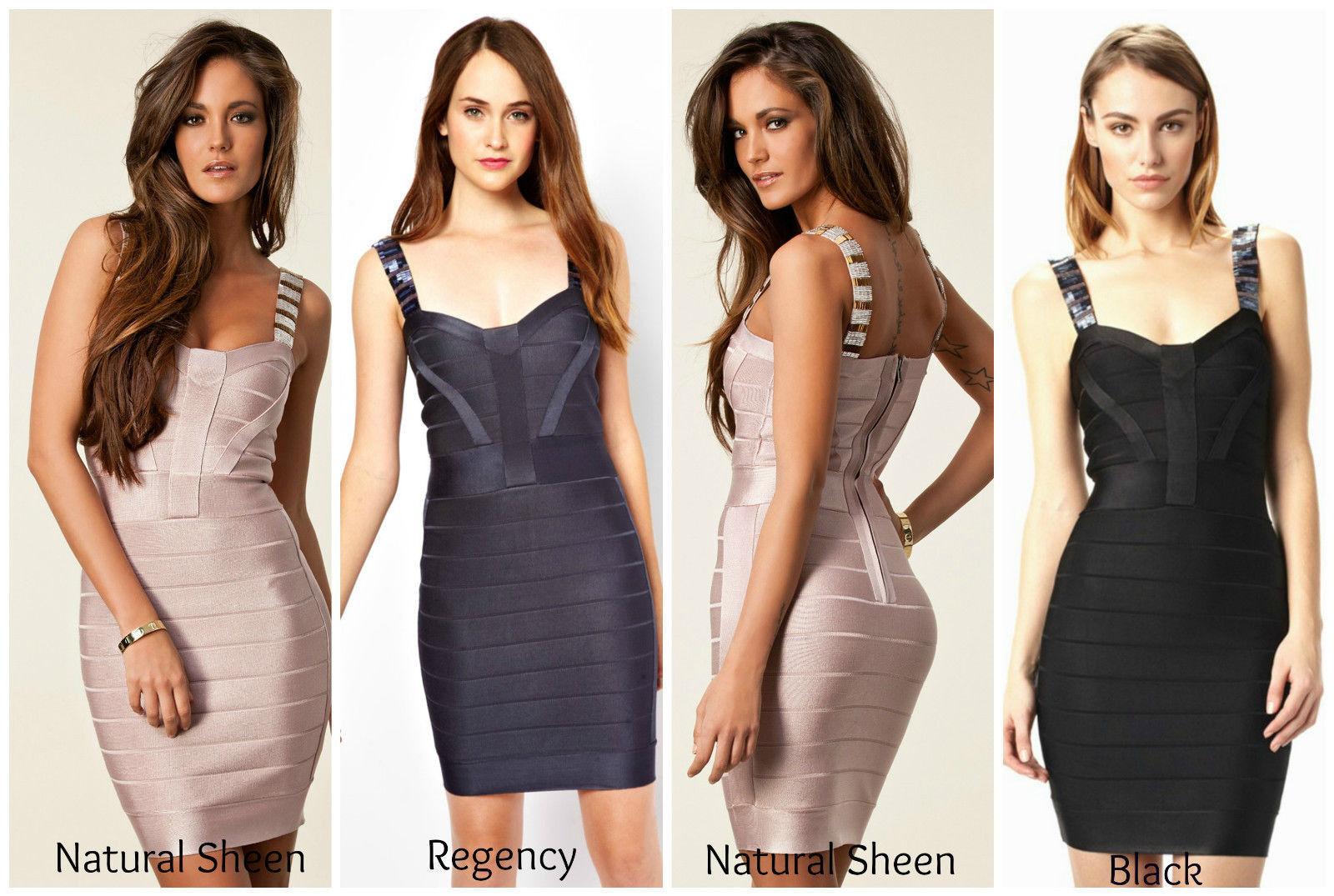 French Connection Bella vendaje BNWT  nuevo  vestido tamaño de Reino Unido 6 8 10 12 14  venta al por mayor barato
