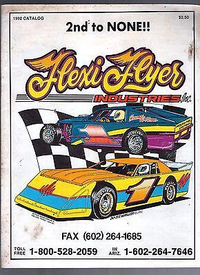 1992 Flexi-flyer Industries Catalog-race Car Parts-fuel Cells-chassis-phoenix Collectibles