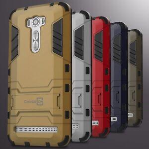 Para-Asus-Zenfone-2-laser-6-0-034-caso-duro-soporte-Protectora-delgada-cubierta-del-telefono